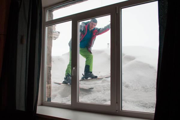 Тем временем в Кировске весна, Россия, Горные лыжи, лыжи, Хибины