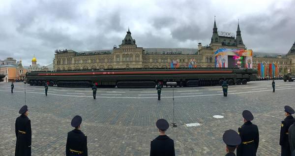 Интересное панорамное фото. Самое страшное орудие Русских.