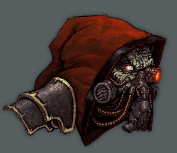 Механикусы Cult Mechanicus, Warhammer 40k, wh art, длиннопост
