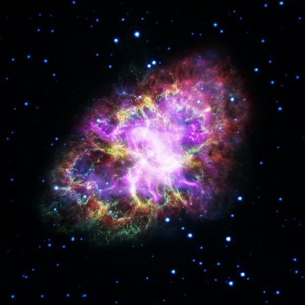 Новое подробное изображение Крабовидной туманности Крабовидная туманность, Космос
