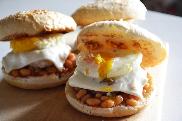 Утренний бургер мясо, еда, рецепт, бургер, котлета, завтрак, Deadpool, динобургер, длиннопост