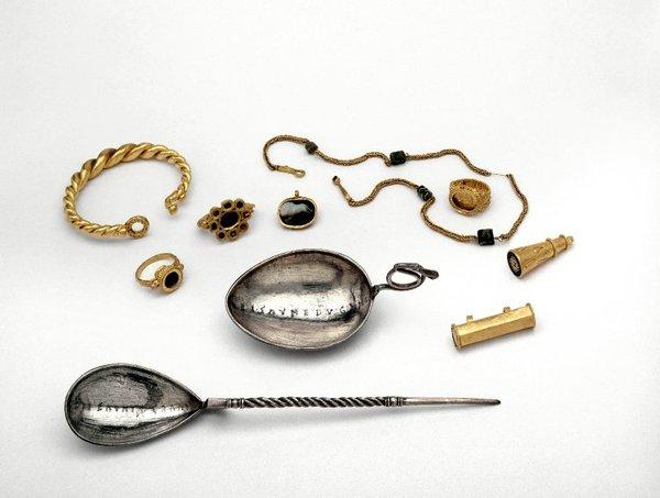 Клад из Тетфорда Археология, клад, Римская империя, ювелирное дело, украшения, сокровище, длиннопост