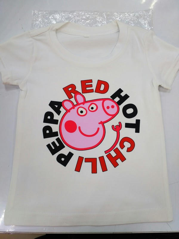 Вдохновился постом тут недавно..) Принт, Свинка пеппа, Red Hot Chili Peppers