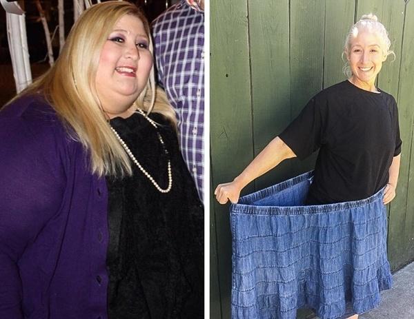 После похудения одежда