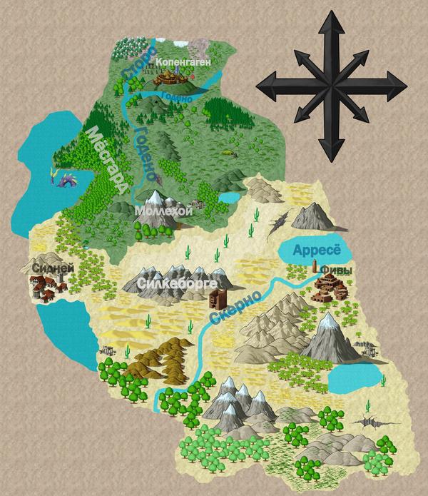 Летопись. Карта. Civilization 5, Demciv, Игры, Летопись, Карты