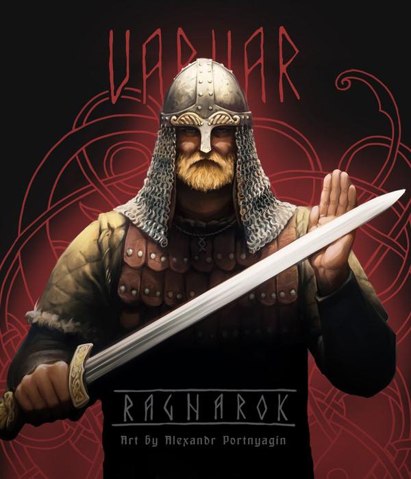 Игральные карты с духом Севера гардар, варвар, викинги, вальхалла, карты, игральные карты, арт, длиннопост