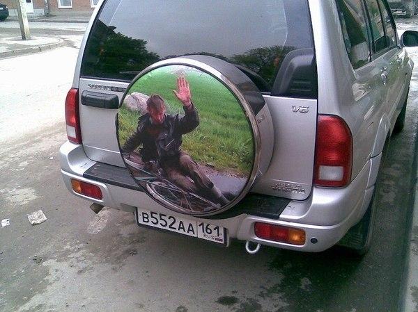 Правильная наклейка авто, наклейка, велосипедист