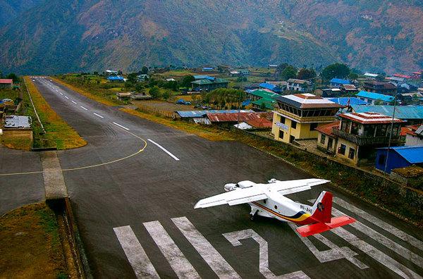 Аэропорт Лукла, Непал Аэропорт Лукла, Непал, Аэрофобия, Самолет