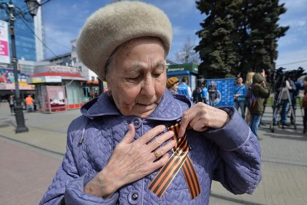На Украине ввели штрафы и админ арест за использование георгиевской ленты Новости, Украина, Политика, Георгиевская ленточка