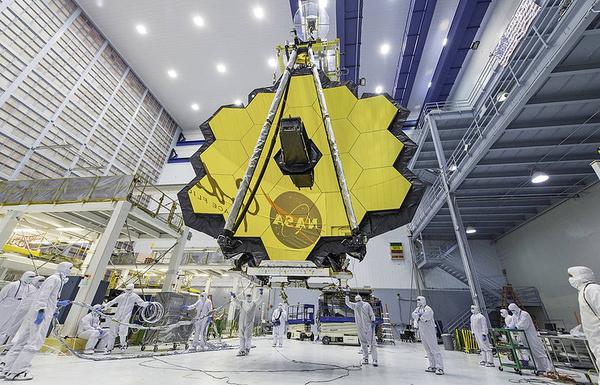 Телескоп James Webb доставлен в Техас и подготовлен к финальным испытаниям James Webb, NASA, испытания, ТАСС, космос