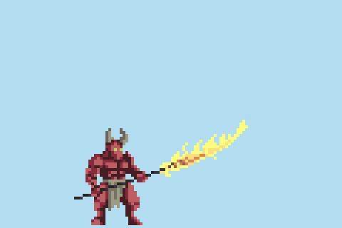 Новые анимации атаки героев в Life is Hard Indie, pixel art, Unity, разработка игр, гифка, длиннопост