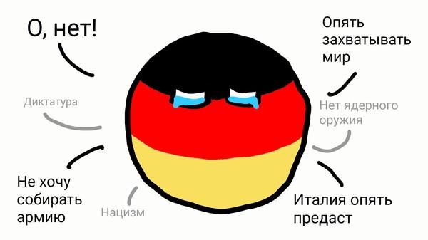 Простите меня, Итальянцы countryballs, Италия, Германия, длиннопост