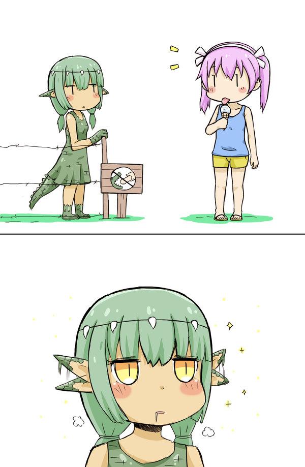 Не давайте ноги крокодилу GreenTeaNeko, Комиксы, Длиннопост