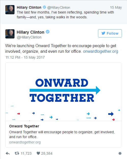 И даже Хиллари?! Политика, США, Россия, Клинтон, Агент кремля, Трамп, Украина, Twitter, Длиннопост