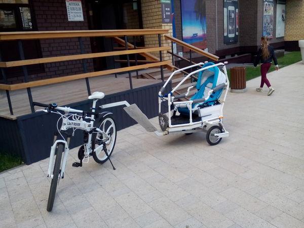 Слава изобретателям ))) Велосипед, Коляска, Вседлядетей, Папа