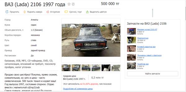 Как продать машину...или не продать Как продать машину, Позитив, Скриншот, Текст, Объявление, Не мое, АвтоВАЗ