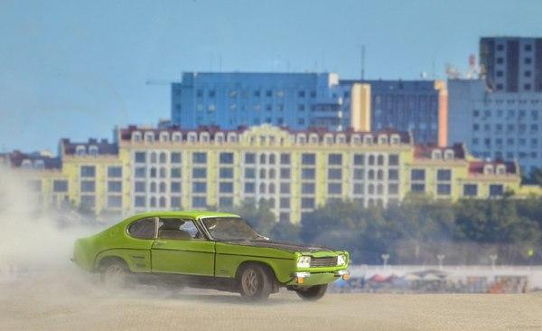 Создание одной фотографии Форд, Capri, Модель, 1:43