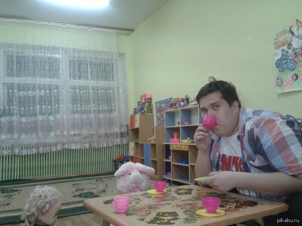 Работа сторожем в детском саду детский сад, zaxaroid, работа, сторож, 3 года, видео, длиннопост