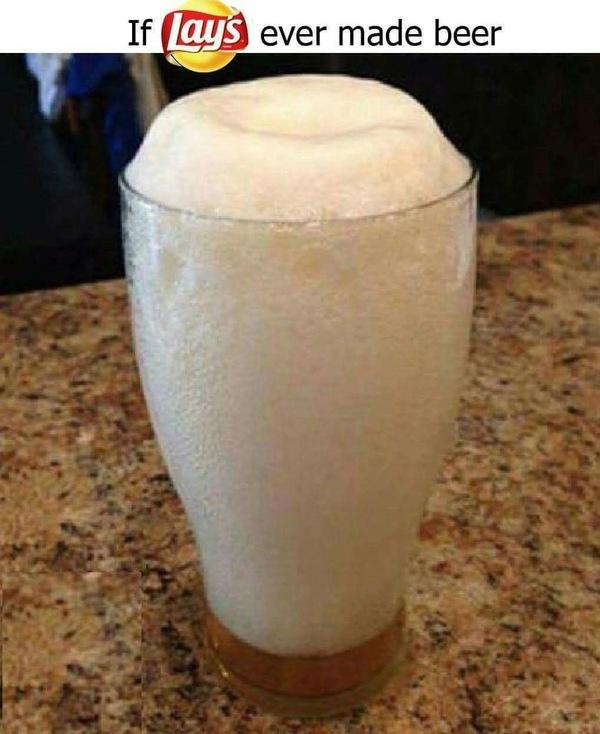 Если бы lays делали свое пиво
