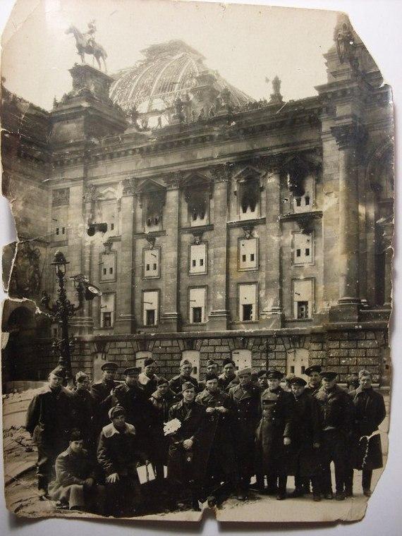 На долгую память. Фотография, Великая Отечественная война, Память, Рейхстаг