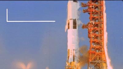Расход топлива Сатурн V в секунду