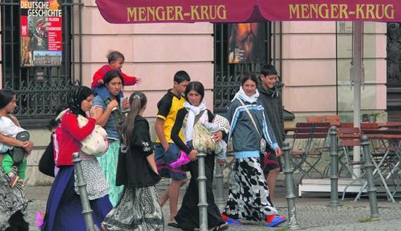 Никто не знает хороших цыган Цыгане, Германия, Текст, Фото нет