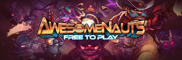 Awesomenauts стали free2play Linux, Steam, Халява, Dota, Игры, Awesomenauts