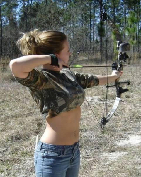 Почти амазонки Девушки, лучницы, спорт, длиннопост