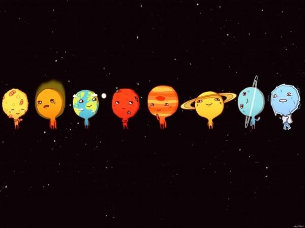 pluto planet cartoon - HD1920×1200