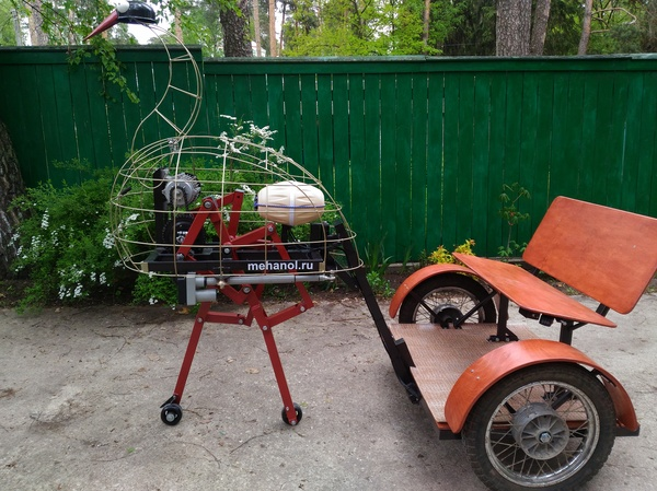 Электростраус (шагающий прототип) шагающий, страус, электрический транспорт, видео
