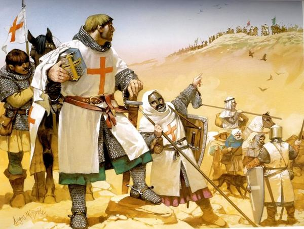 saladin and the crusades Saladin was born to a well-off kurdish family in tikrit and grew up in ba'lbek and damascus he began his military career by joining the staff of his uncle asad ad-din shirkuh, an important commander.