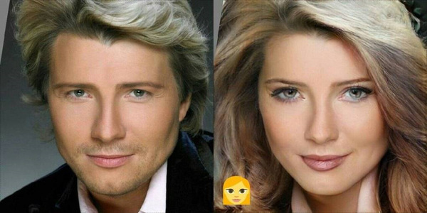 Если бы знаменитые мужики родились бы женщинами... FaceApp, Мужики, Женщина, Развидеть, Длиннопост