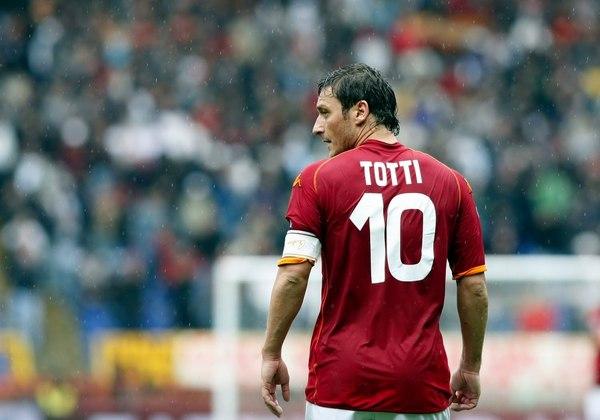 Император ушел. футбол, Тотти, Roma