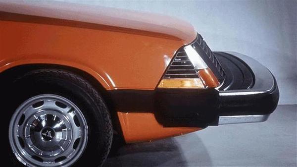 1972 год. Прототип безопасного бампера Volvo на амортизаторах. Volvo ESV Авто, Фотография, Интересное, Техника, Вольво
