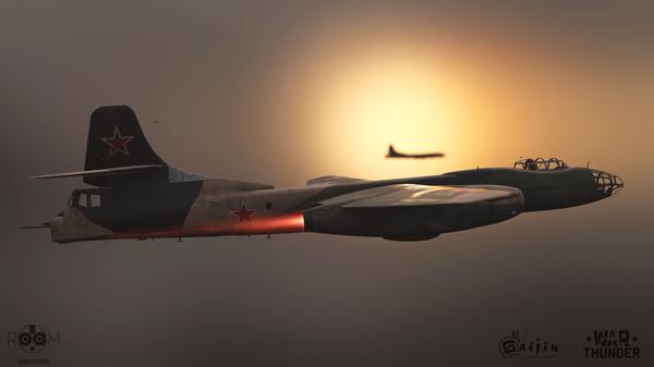 Мой самолет в игре WarThunder. Ту-14Т Ту-14т, Tu-14t, War Thunder, Room8, Длиннопост