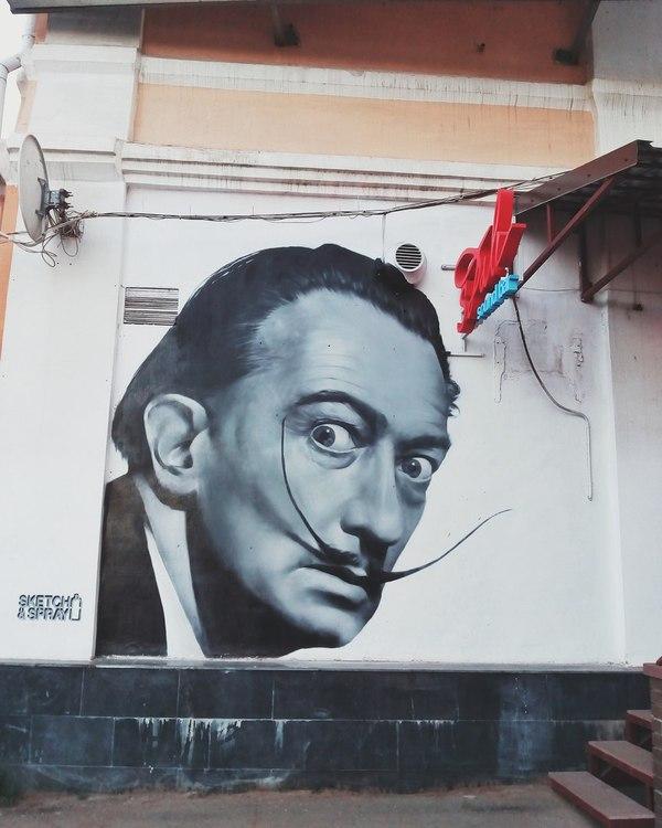 Сальвадор Дали на улицах Ярославля
