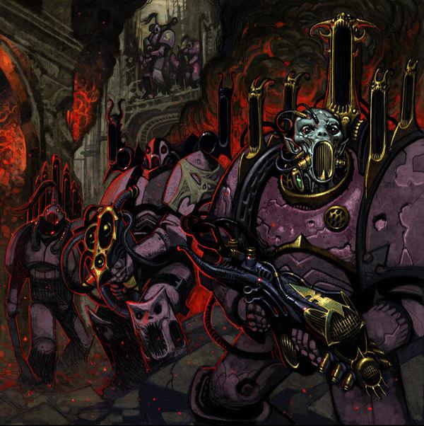 Emperors Children Emperors Children, Warhammer 40k, wh art, длиннопост