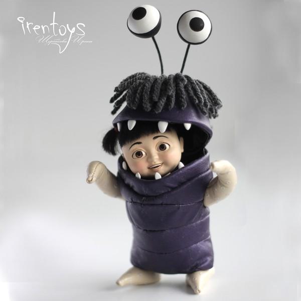 Малышка Бу [кукла] Корпорация монстров, Бу!, Pixar, Irentoys, Handmade, Ручная работа, Своими руками, Длиннопост