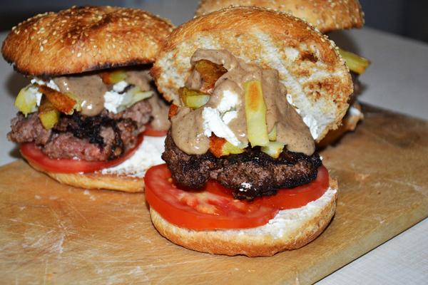 Путин бургер Dinoburger, SonOfRocketman, мясо, еда, рецепт, бургер, Путин, канада, длиннопост