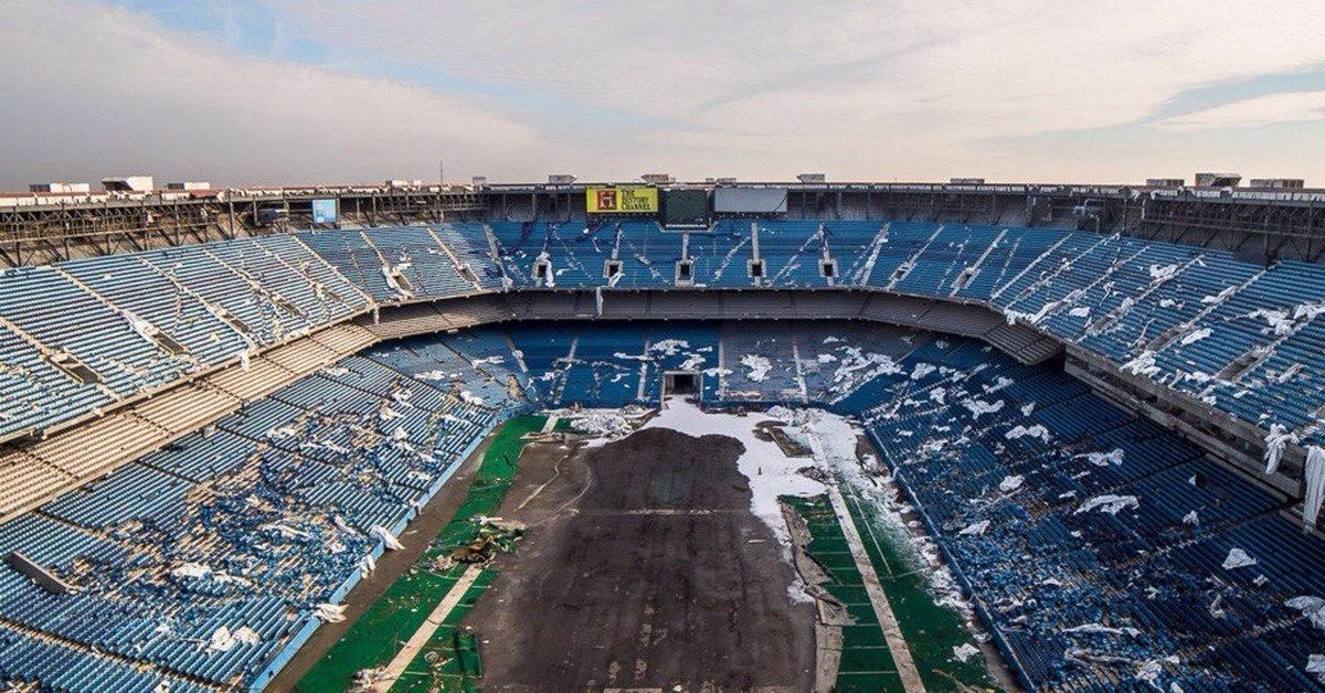 Крупнейшие в мире заброшенные стадионы.