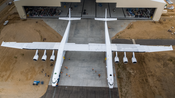 Чудо-юдо от Stratolaunch Systems космонавтика, Авиация