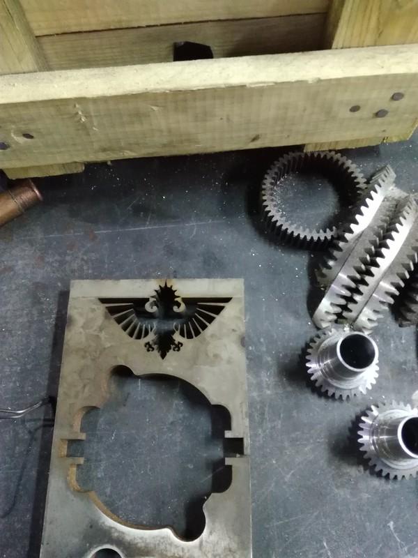 Очередная поделка или развлечения металлообработчика Warhammer 40k, инквизиция, рукоделие, металл, длиннопост