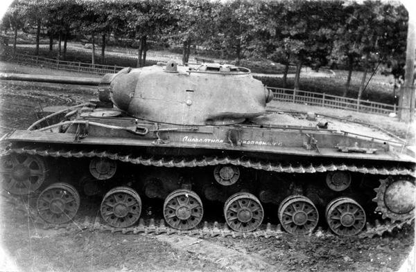 Фото испытаний КВ-1с Оружие, танки, КВ-1с, испытания, фотография, история, Великая Отечественная война, длиннопост