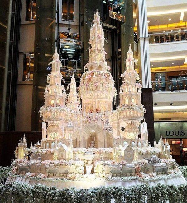 Сложнейшие свадебные торты от кондитеров из Индонезии торт, кондитер, сладости, свадьба, длиннопост