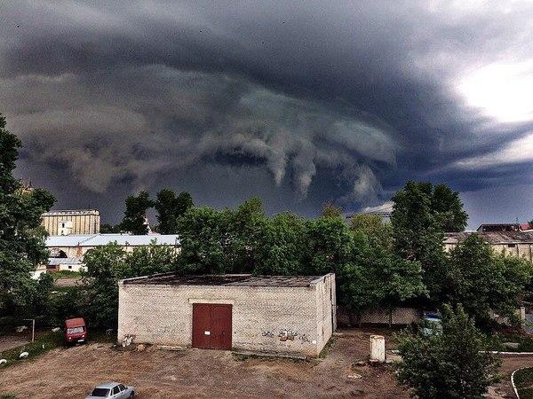 В Димитровграде собираются дементоры Ульяновск, Димитровград, погода, облака, тучи, длиннопост