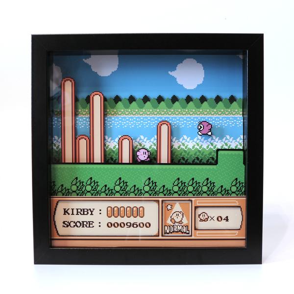 Диорама по игре Kirby's Adventure Диорама, Игры, Олдскул, Моё, Ностальгия, Кирби, Своими руками, Длиннопост