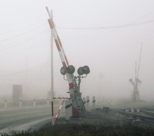 Город в тумане туман, осень, барнаул, фотография, silent hill, моё, длиннопост