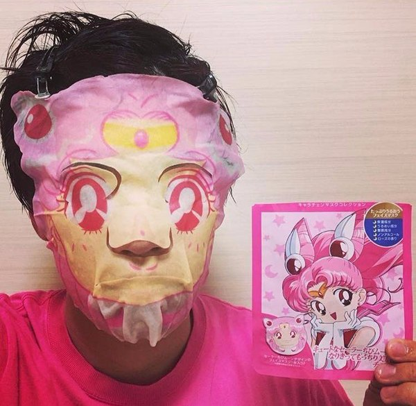 Лунная призма,дай мне силу! Маска для лица, Sailor Moon, Крипота, Длиннопост