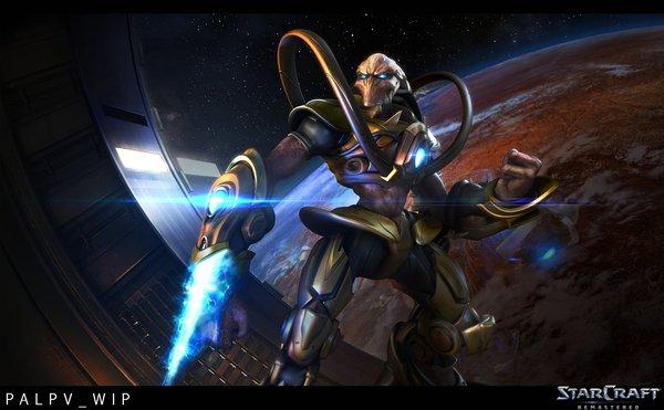 StarCraft: Remastered Protoss Victory Screen StarCraft, StarCraft: Brood War, Brood War, StarCraft: Remastered, Sc:bw, SC:R