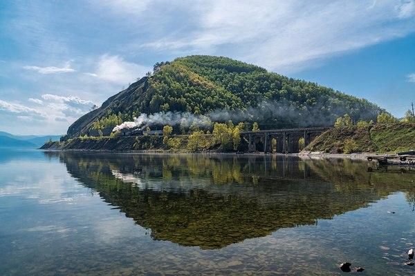 Кругобайкальская железная дорога железная дорога, Иркутская область, Россия, фотография, Природа, путешествия, надо съездить, длиннопост